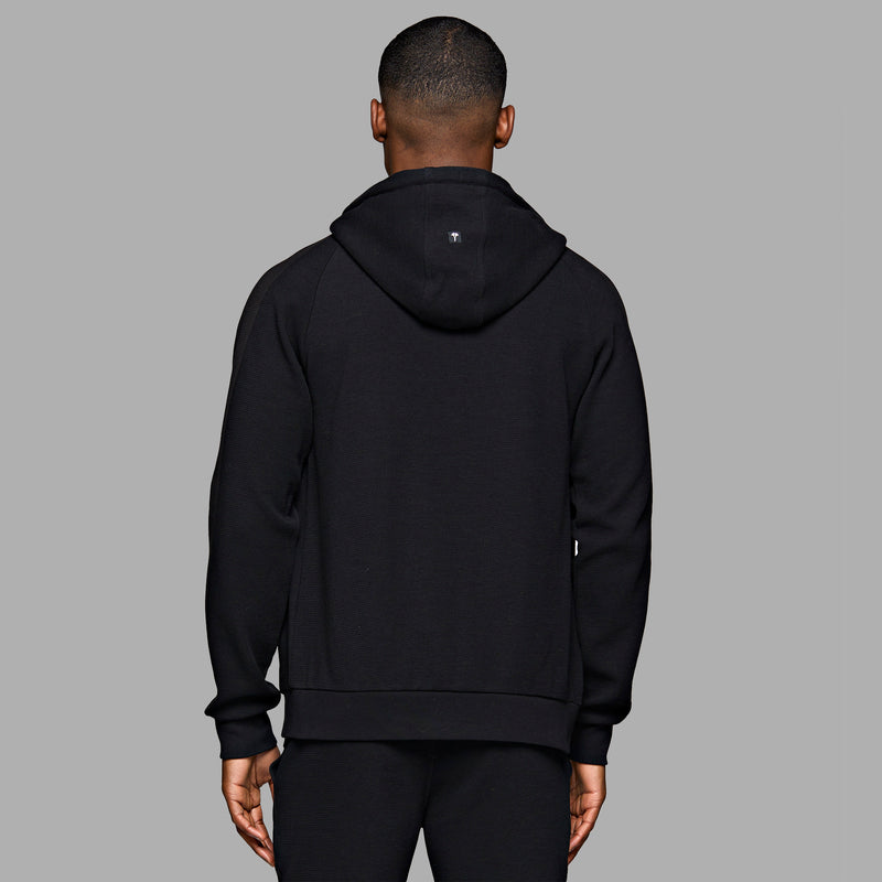 PRM Full Zip Hood - Black