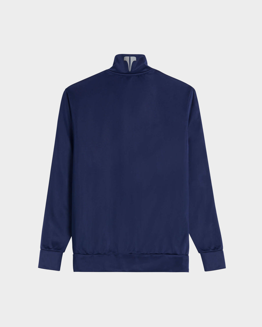 TECHNICAL TRACK JACKET - NAVY