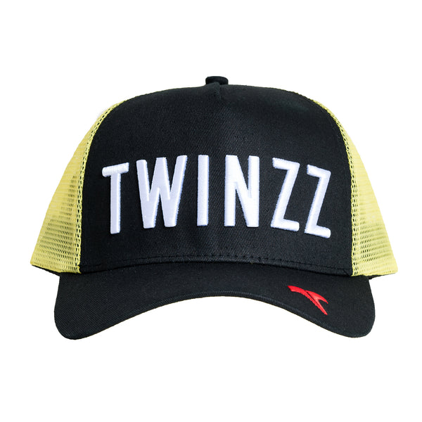 CORE TRI-COLOUR TRUCKER - Black/Yellow/Red