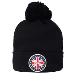 GB PATCH KNITTED HAT
