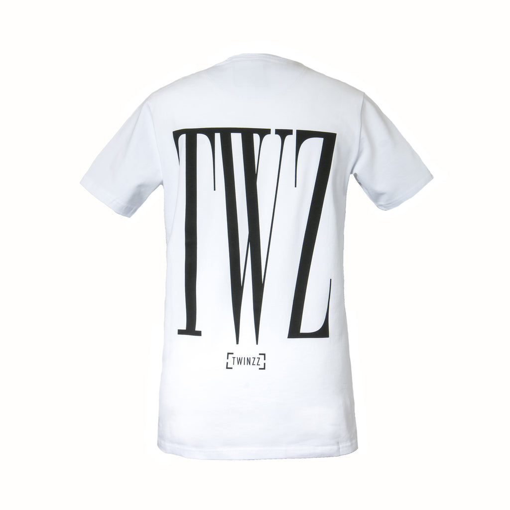 White Rossi Tee
