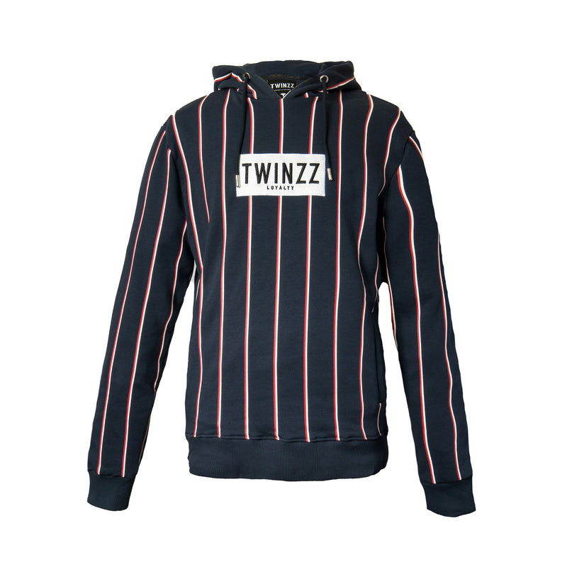 Navy Virgilli Stripe Oth Hood