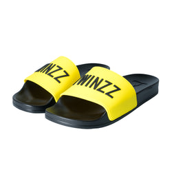 Positano Slides Yellow/Black
