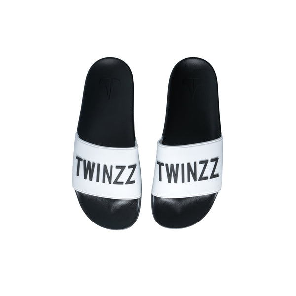 Positano Slides White/Black
