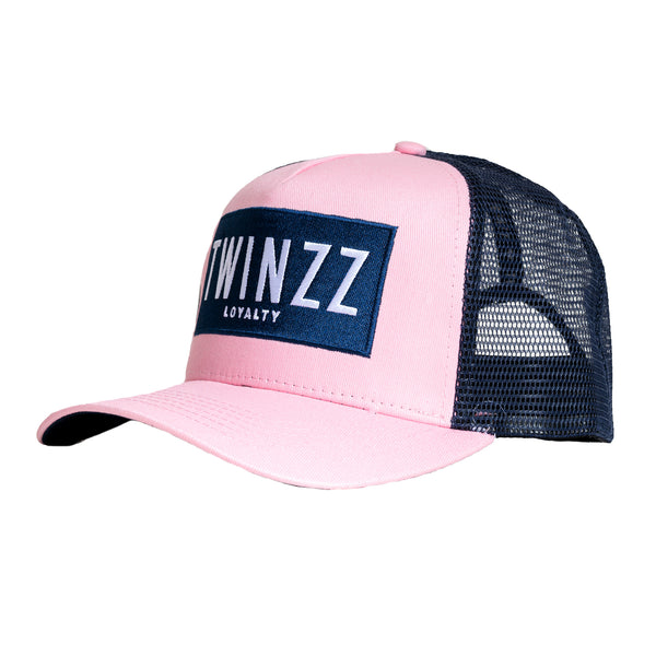 Sencillo Trucker - Baby Pink/Navy/White