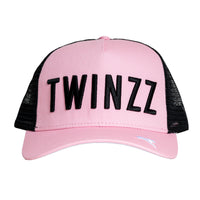CORE TRI-COLOUR TRUCKER - Pink/Black/White