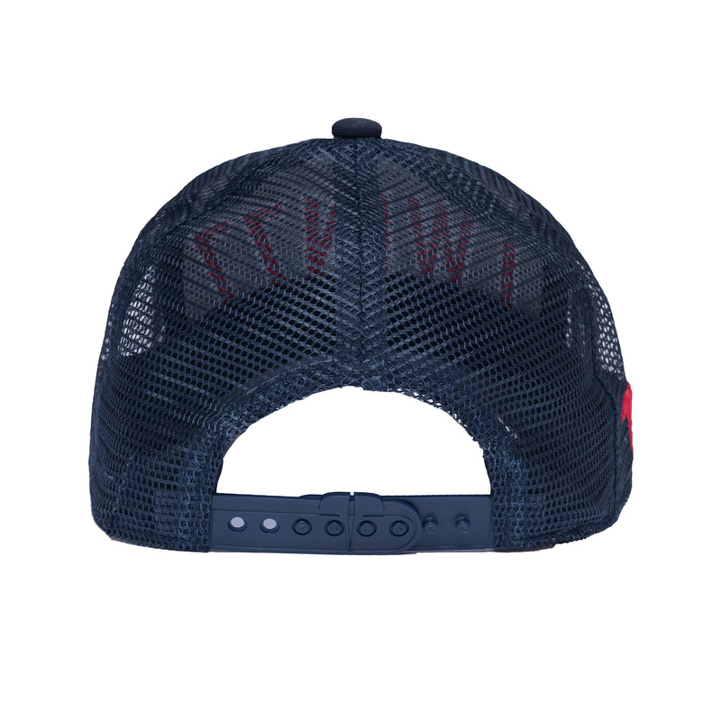 3D MESH TRUCKER KIDZ - Navy/Red