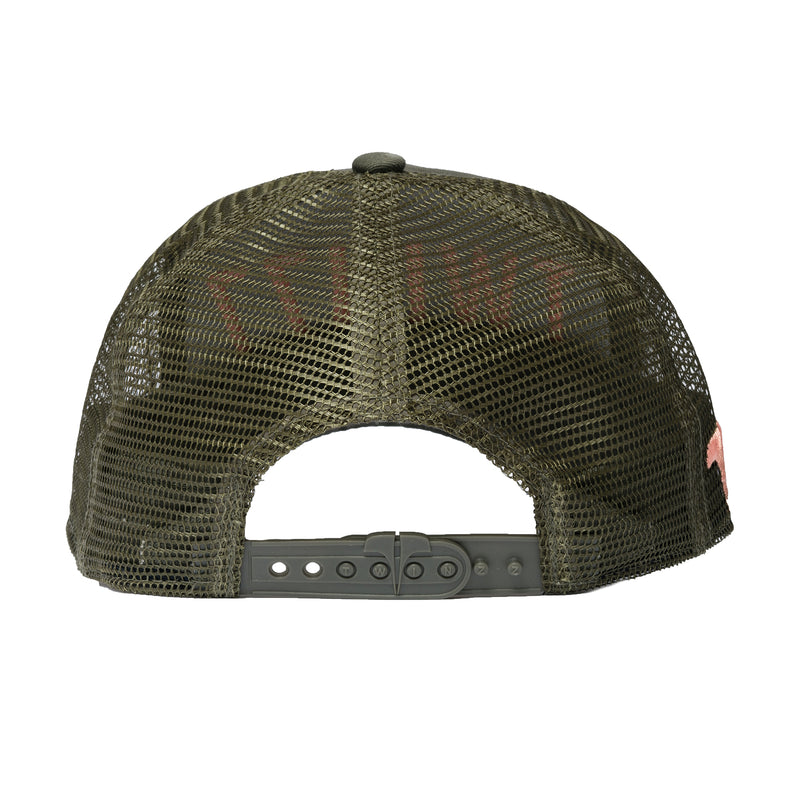 3D MESH TRUCKER - OLIVE COLLECTION