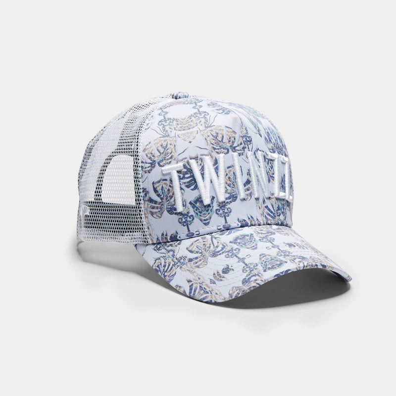 3D Mesh Back Trucker - Palms