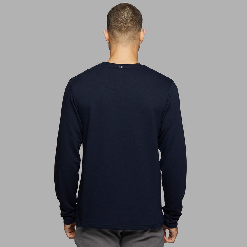 Long Sleeve Tee - Navy