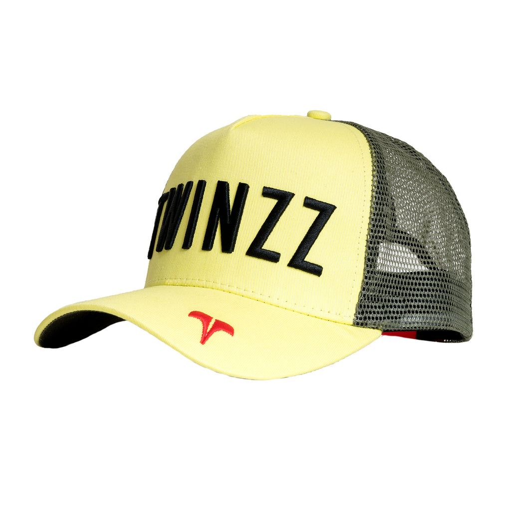 CORE TRI-COLOUR TRUCKER - Yellow/Red/Black