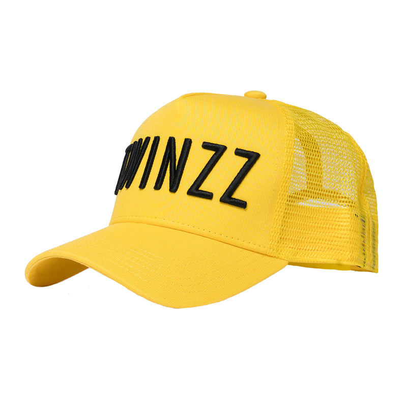 3D MESH TRUCKER - YELLOW COLLECTION