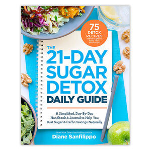 The 21-Day Sugar Detox Daily Guide: Day-By Day Handbook & Journal