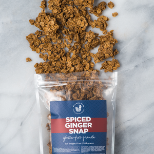 Spiced Ginger Snap Gluten-Free Granola