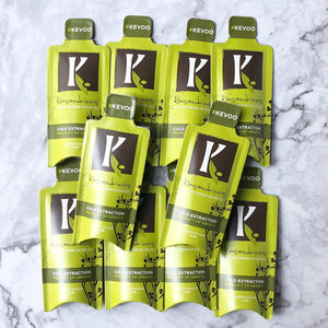 Kassandrinos Extra Virgin Olive Oil travel packets are perfect for adding extra healthy fat to your meal or using for travel, salads, and more anytime.