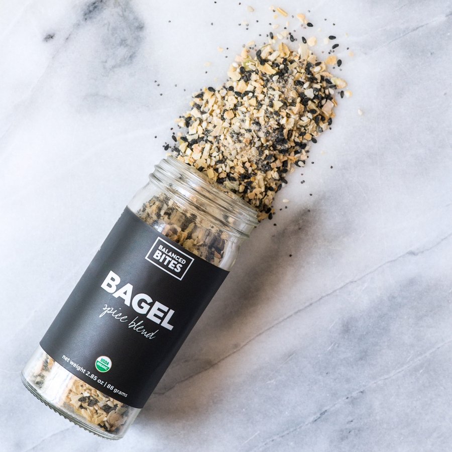 BAGEL Spice Blend | Balanced Bites Organic Spices