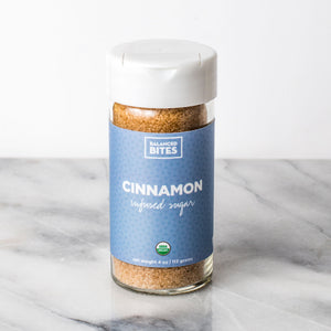 CINNAMON organic infused sugar | Balanced Bites