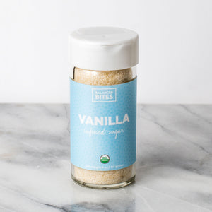VANILLA organic infused sugar | Balanced Bites