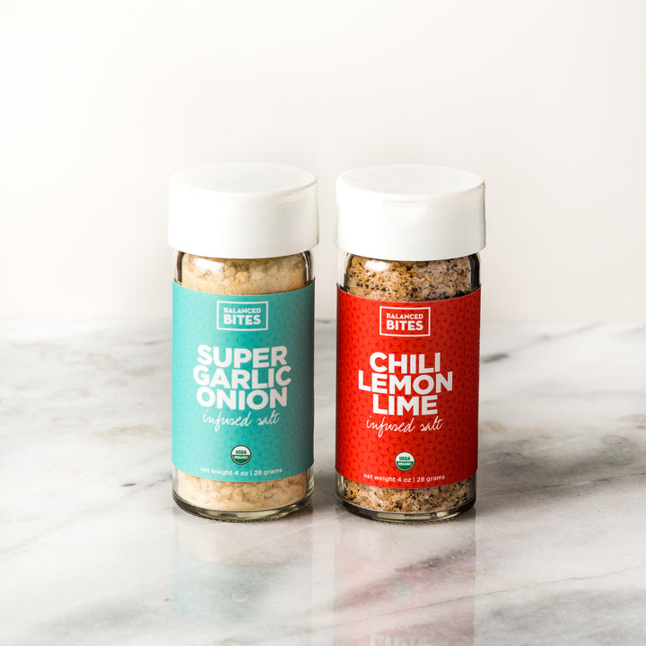 INFUSED SALTS 2-PACK | Balanced Bites Wholesome Foods