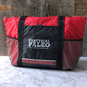 Insulated Cooler Tote, Practical Paleo branded