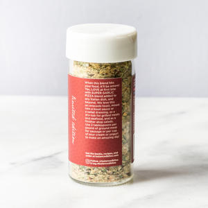 SUPER GARLIC PIZZA spice blend | Balanced Bites Spices Organic Spices
