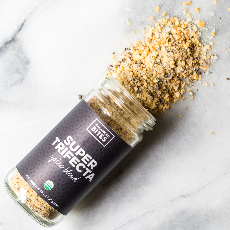 SUPER TRIFECTA spice blend | Balanced Bites Spices Organic Spices