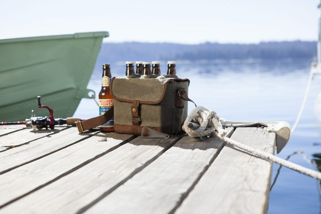 Beer Caddy Cooler Tote with Opener