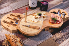 Load image into Gallery viewer, Golf Sand Trap Cheese Board Set with 6 Tools for Cheese and Wine