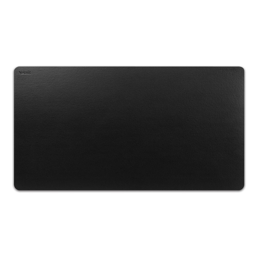 Nekmit Leather Desk Blotter - Black