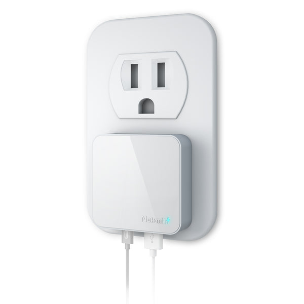 30W Dual Port USB-C Wall Charger, White