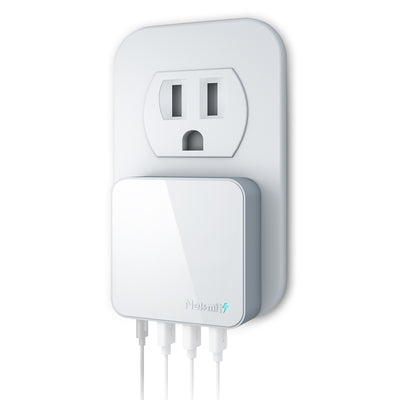 42W 4-Port USB-C Fast Wall Charger