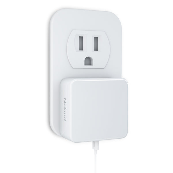 TriPlug 61W USB-C Power Delivery Wall Charger, White