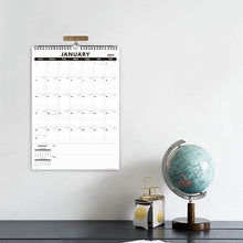 Load image into Gallery viewer, Nekmit 2021 Yearly Monthly Wall Calendar-Thick Paper