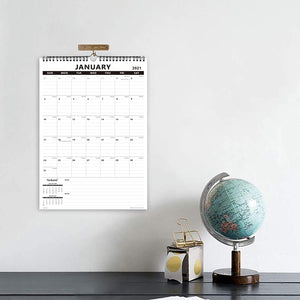Nekmit 2021 Yearly Monthly Wall Calendar-Thick Paper