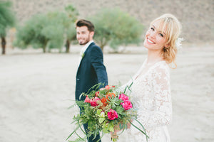 A California Bride, three ways