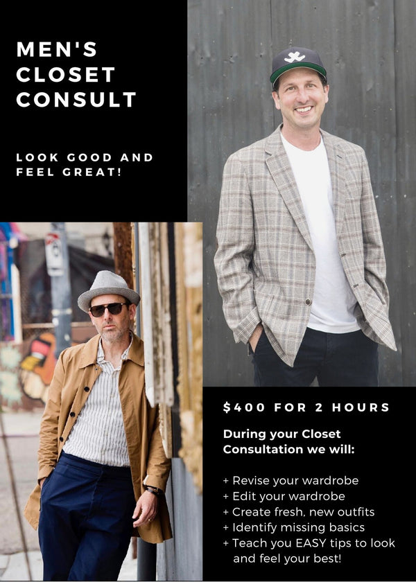 Men's Closet Consultation