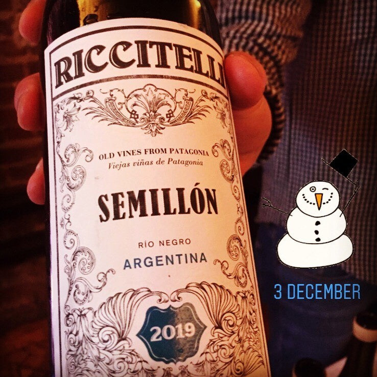 24 days of Christmas Wines...3 December