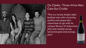 Oz Clarke - Three Wine Men - shares his thoughts on the Cara Sur Criolla...