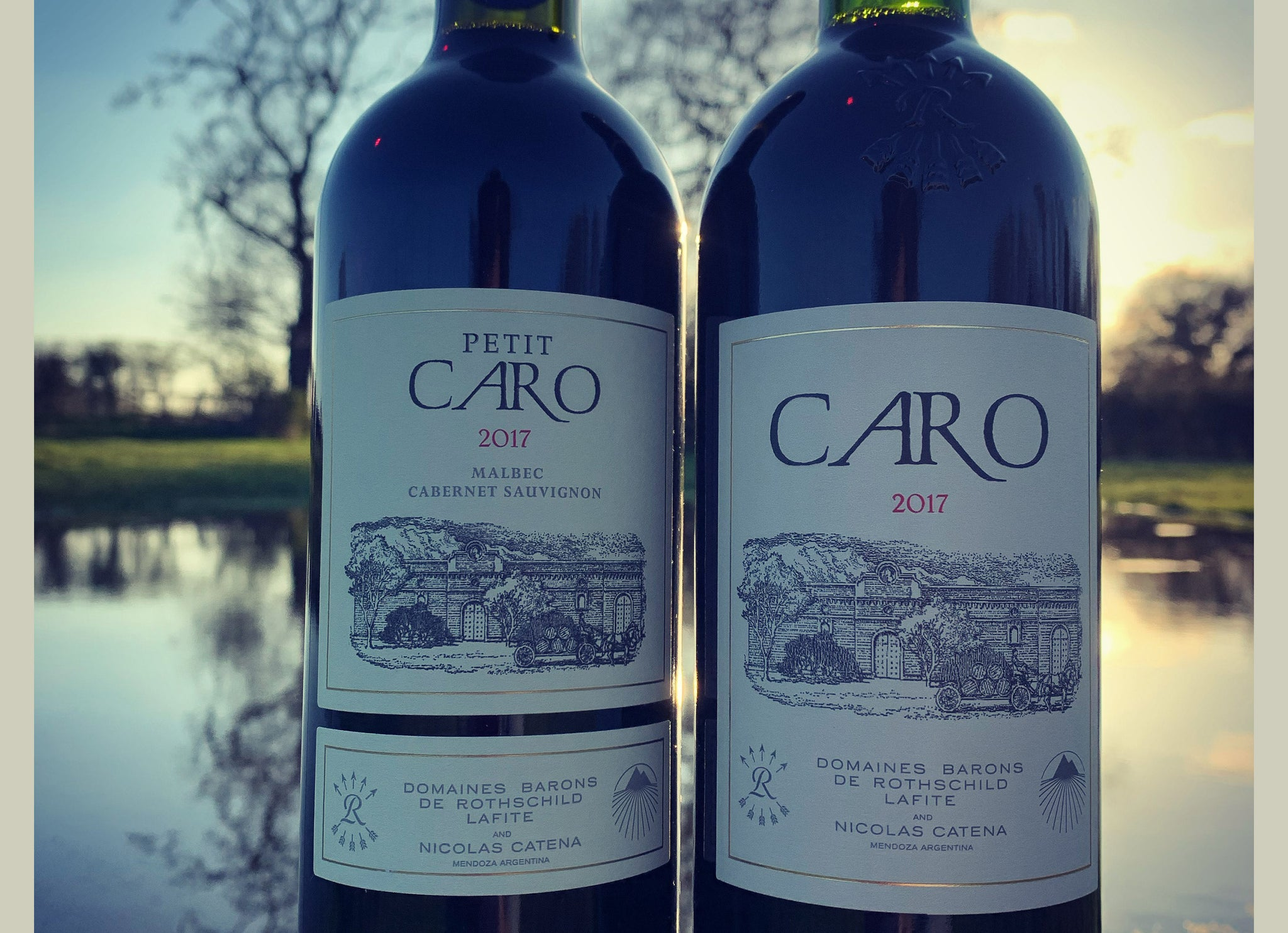 Bodegas CARO wines are now in stock...