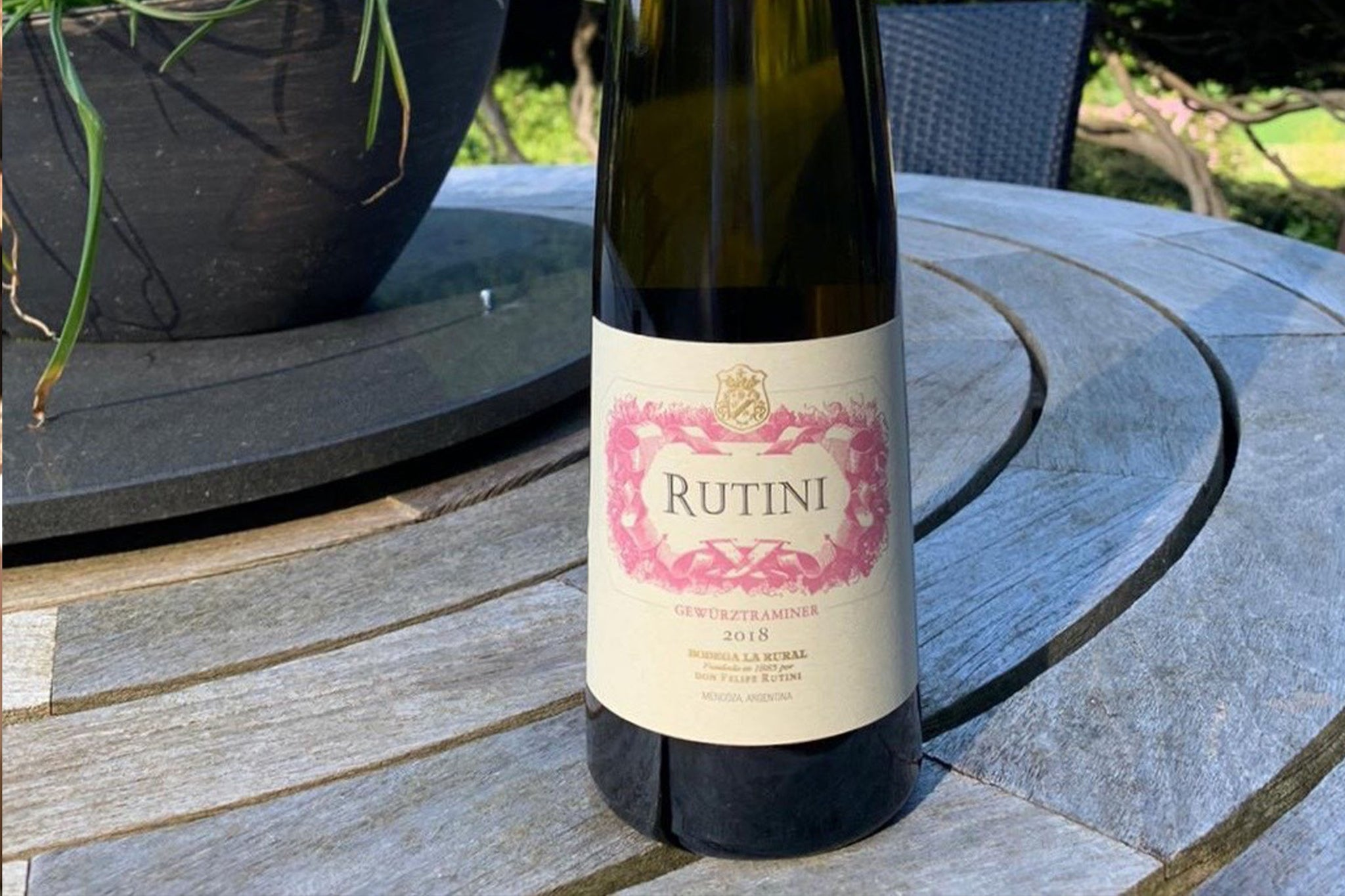 Rutini Gewürztraminer 2018 now in stock!