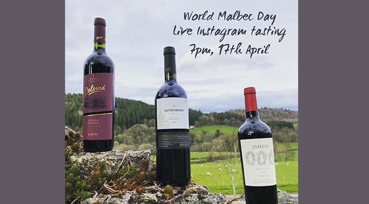 World Malbec Day - Live Instagram Tasting - 17th April