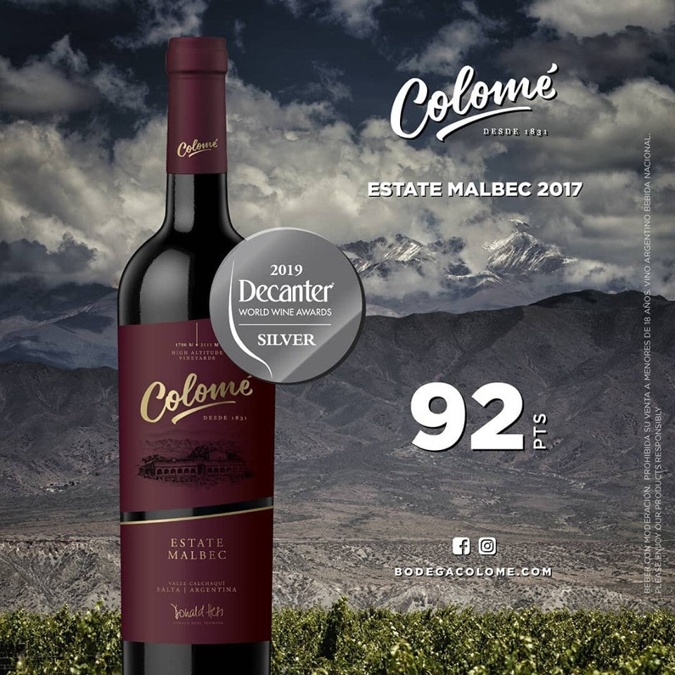 Colomé Estate Salta Malbec 2018