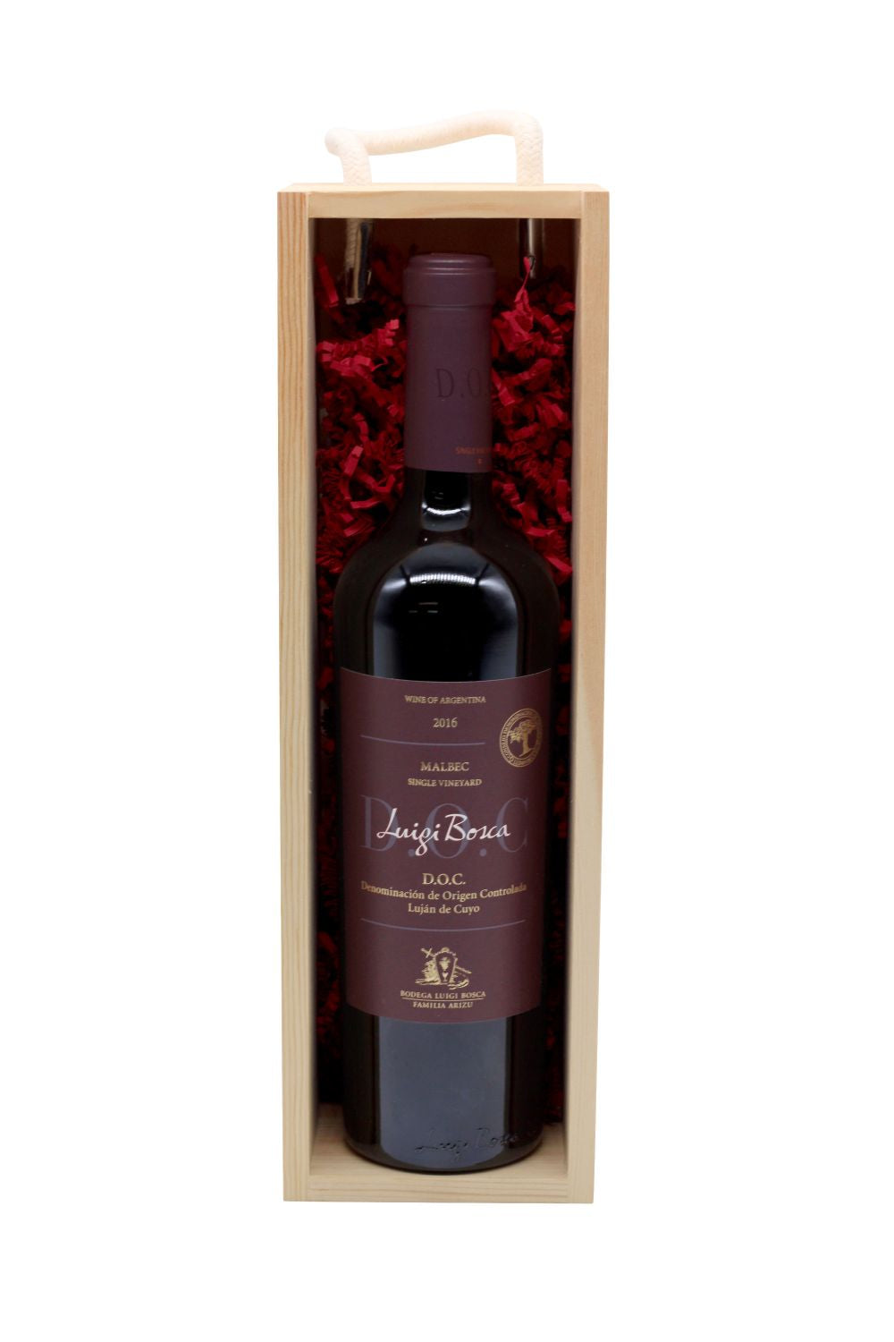 Single Vineyard Malbec - Wine Gift