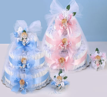 3 Tier Original Ultimate Diaper Cake
