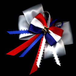 Americana Boutique Custom Hair Bow