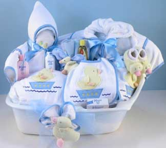 Boy's Luxury Baby Spa Gift Set