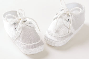 Baby Boy's Christening Shoes