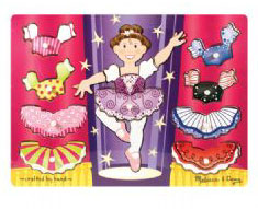 Ballerina Mix & Match Dress Up Puzzle