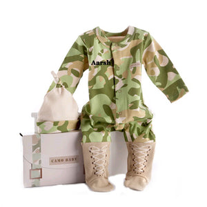 Big Dreamzzz Baby Camo Two Piece Layette Set