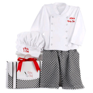 """Big Dreamzzz"" Baby Chef Three Piece Layette"